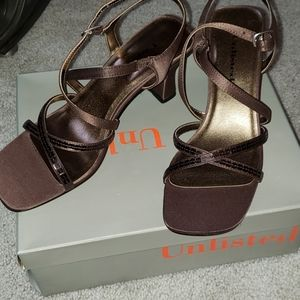 Unlisted Brown Dress Heels